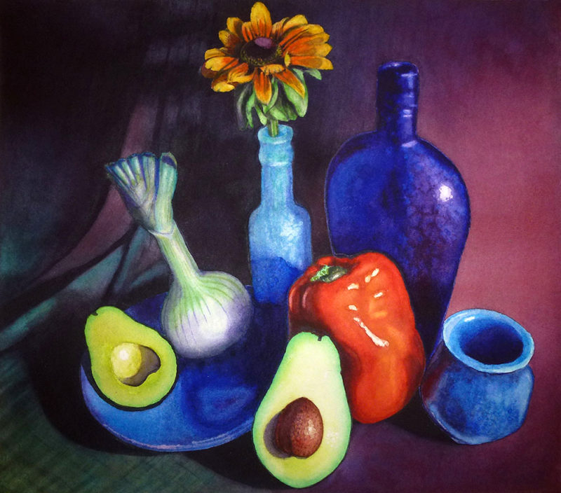 Jennifer Shepard - Still Life with Avocado