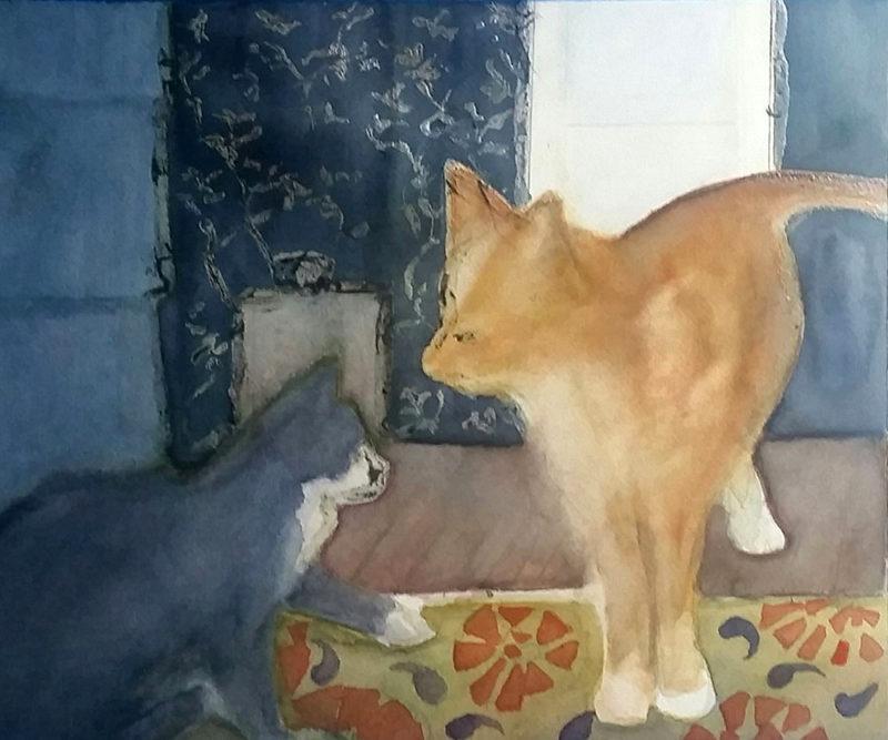 Karen Blume - Cats. Incomplete