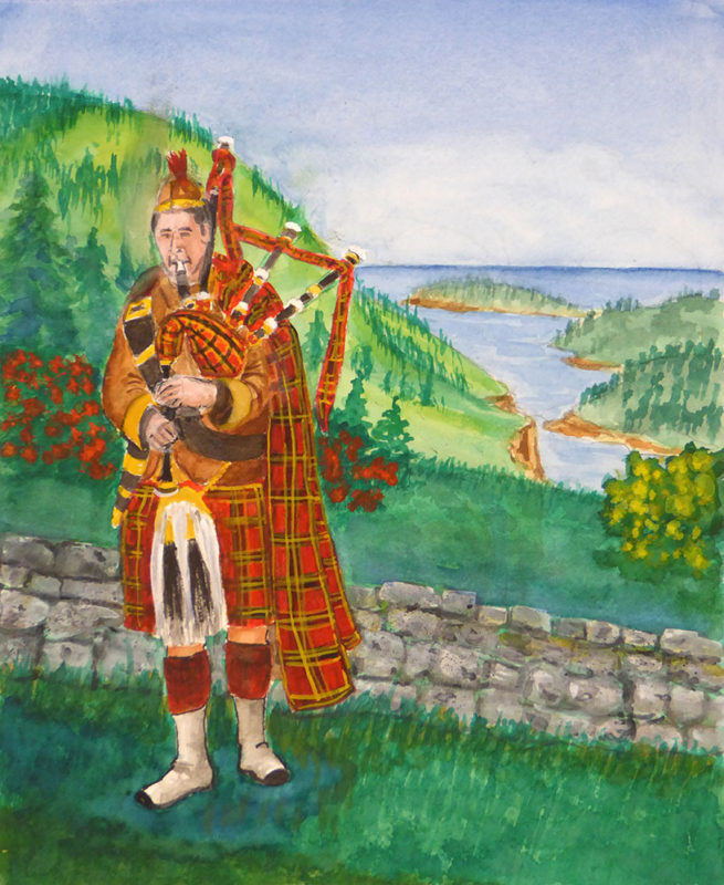Lee Ready - Bagpipe Player