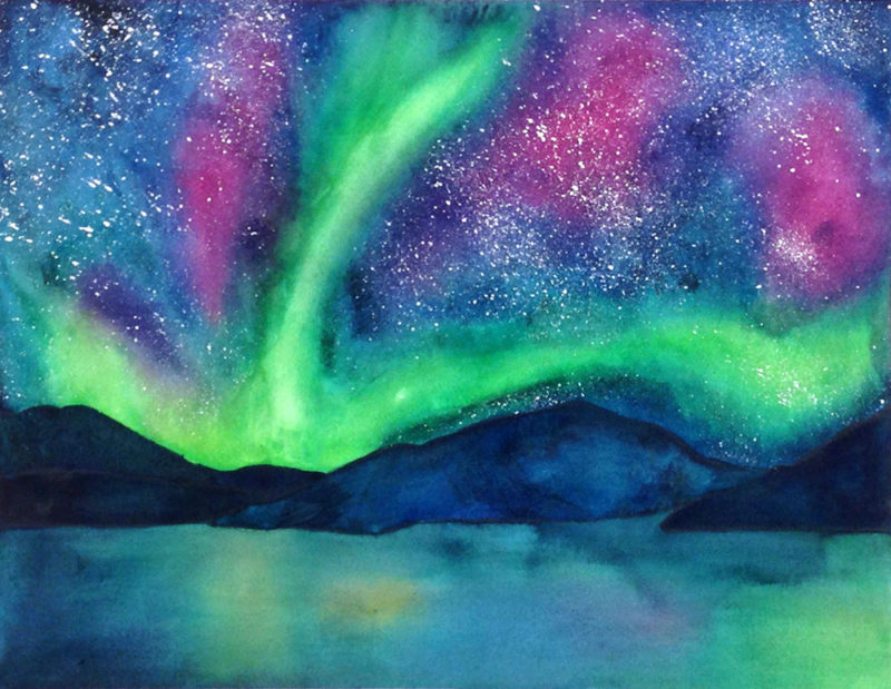 Tara Warburton-Schwaber - Northern Lights